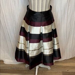 Eliza J fit and flair skirt